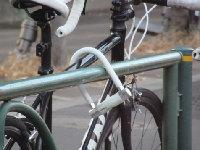 自転車の鍵開け対応