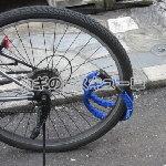 自転車のワイヤーロックなど
